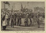 The Reinforcements for India, Presentation of New Colours to the Royal Welsh Fusiliers …