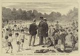Public Instruction in Swimming, School-Board Children bathing in Victoria Park