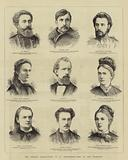 The Nihilist Prosecutions at St Petersburg, some of the Prisoners