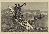 The West Coast of Africa, Fishing Canoes off Cape Verde