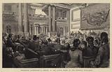 Melbourne Illustrated, a Debate in the Lower House of the Victorian Parliament
