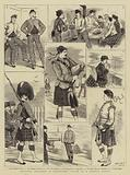 Military Sketches at Edinburgh Castle