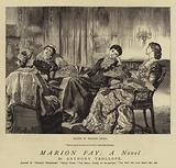 Marion Fay; A Novel