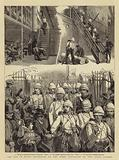The War in Egypt, Departure of the First Battalion of the Scots Guards