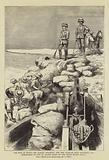The War in Egypt, Sir Garnet Wolseley and the Duke of Teck watching the Demolition of one …