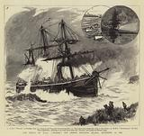 """The Wreck of HMS """"Phoenix"""" off Prince Edward's Island, 12 September 1882"""