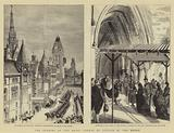 The Opening of the Royal Courts of Justice by the Queen