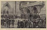The Opening of the Royal Courts of Justice by the Queen, the Ceremony in the Great Hall