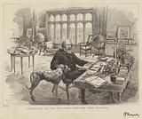 Celebrities of the Day, Lord Tennyson, Poet Laureate