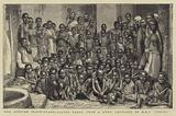 """The African Slave-Trade, Slaves taken from a Dhow captured by HMS """"Undine"""""""