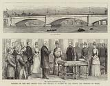 Opening of the New Bridge over the Thames at Putney by the Prince and Princess of Wales