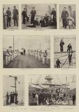"""The Loss of HMS """"Victoria"""", Scenes on Board HMS """"Camperdown"""""""