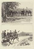The German Military Manoeuvres in Lorraine before the Emperor William