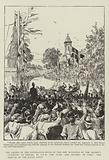 The Laying of the Foundation-Stone of the New Buildings of the Seamen's Institute at Poplar …