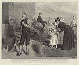 Innocence and Crime, a Scene in the Garden of the Convict Prison at Portland