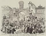 The Reception of Russian Officers in Paris, General Chanoine, Admiral Avellan, M Humbert …