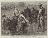 Returning with Lo Bengula's Envoys from a Mission to the British, propitiating the Witch Doctor …