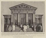 "The First Greek Play performed in Victoria, the ""Alcestis"" at Melbourne"