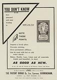 Advertisement, Borax Starch Glaze