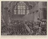 The Presentation of the Freedom of the City to Lord Kitchener, General View of the Guildhall during the Ceremony