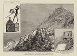The aerial railway at Gibraltar