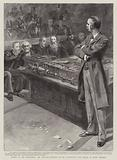 Mr Balfour replying to Mr Gladstone's last speech as Prime Minister