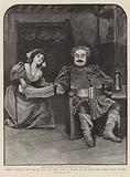 Verdi's Falstaff, now for the first time being given in England at The Royal Opera House, Covent Garden