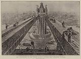The completion of The Tower Bridge, putting the finishing touches
