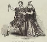 "Scene from ""Macbeth,"" at the Princess' Theatre"