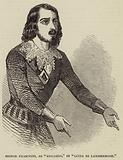 "Signor Fraschini, as ""Edgardo,"" in ""Lucia di Lammermoor"""