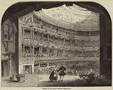 Interior of the Lyceum Theatre, Redecorated