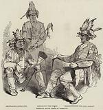 Chippewa Indian Chiefs at Montreal