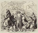 Noah's Sacrifice, the Ark Resteth on Ararat, the Bow is Set in the Cloud