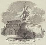 The Windmill of Sans Souci, Potsdam