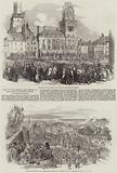 Tour of the Emperor and Empress of the French in the North of France