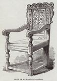 Chair of Sir Martin Frobisher