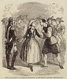 """Mademoiselle Piccolomini in """"La Figlia Del Reggimento,"""" at Her Majesty's Theatre"""