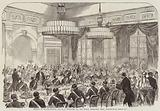 Dinner to Major-General Sir W F Williams, at the Royal Artillery Mess, Woolwich