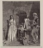 Charlotte Corday having her Portrait taken shortly before her Execution