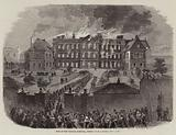 Fire at the General Hospital, Jersey