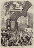 The Lord Mayor's Show, Triumphal Arch in Cornhill