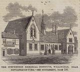 The Stephenson Memorial Institute, Willington, near Newcastle-on-Tyne