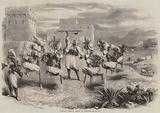 Riffian Nuptial Dance in Tangier