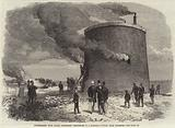 Experiments with Gale's Protected Gunpowder in a Martello Tower, near Hastings