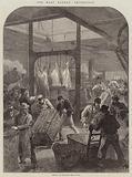The Meat Market, Smithfield, Arrival of an Early Meat Train