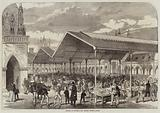 Opening of Columbia Fish Market, Bethnal-Green