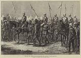 The Zulu War, Return of the Ambassadors from Cetewayo to Lord Chelmsford