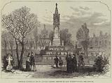 Memorial Sundial in Old St Pancras Gardens, erected by Lady Burdett-Coutts