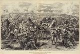 The Zulu War, the Battle of Ulundi, inside the Square