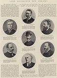 Lord Salisbury's New Cabinet